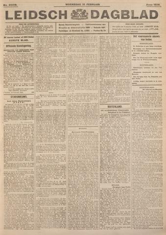 Leidsch Dagblad 1926-02-10