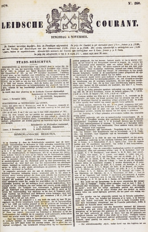 Leydse Courant 1879-11-04