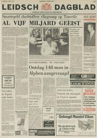 Leidsch Dagblad 1977-04-01