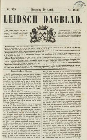 Leidsch Dagblad 1863-04-20