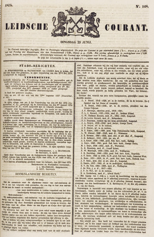 Leydse Courant 1875-06-29