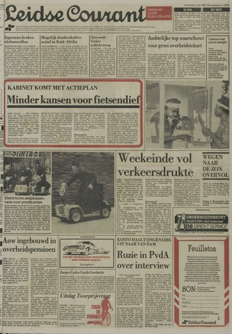Leidse Courant 1985-07-04