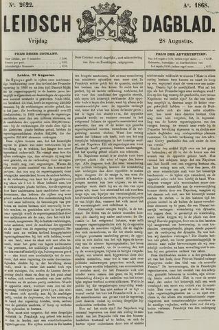 Leidsch Dagblad 1868-08-28
