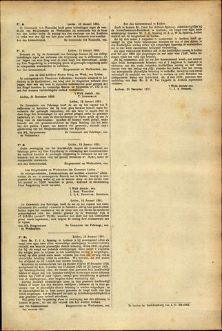 Handelingen van de Raad 1881-01-10