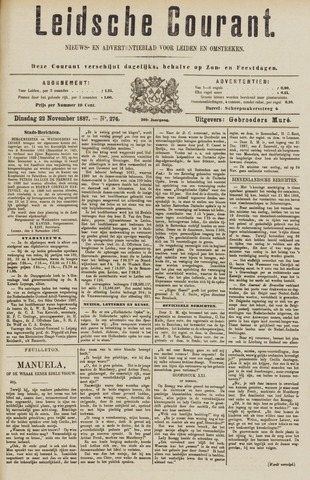 Leydse Courant 1887-11-22