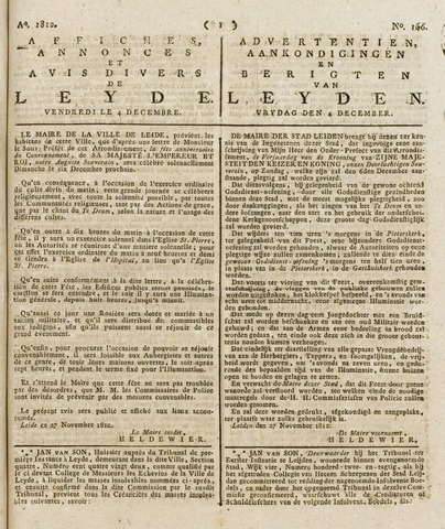 Leydse Courant 1812-12-04