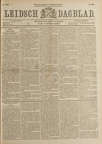 Leidsch Dagblad 1899-09-14