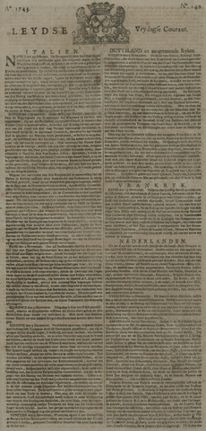 Leydse Courant 1743-11-22