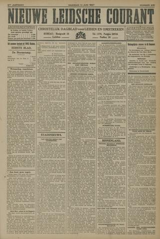 Nieuwe Leidsche Courant 1927-06-13