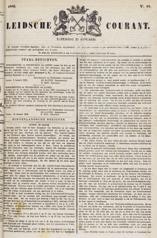 Leydse Courant 1882-01-21