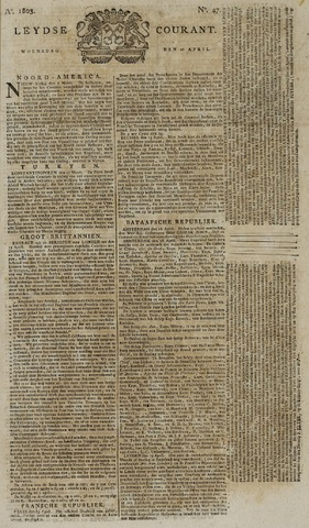 Leydse Courant 1803-04-20