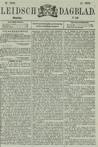 Leidsch Dagblad 1876-07-17