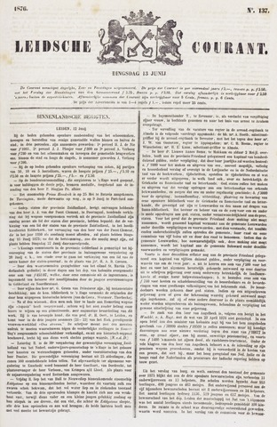 Leydse Courant 1876-06-13