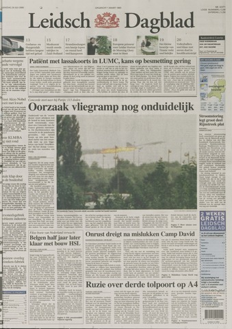 Leidsch Dagblad 2000-07-26