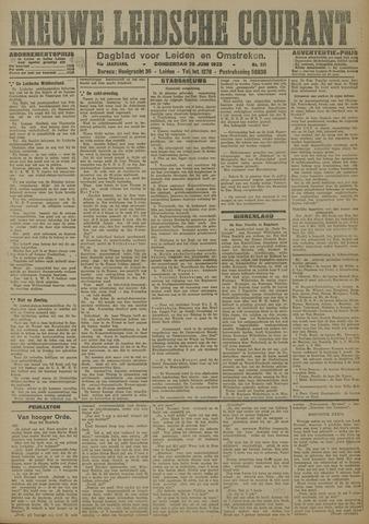 Nieuwe Leidsche Courant 1923-06-28