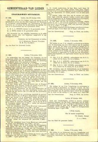 Handelingen van de Raad 1919-10-27