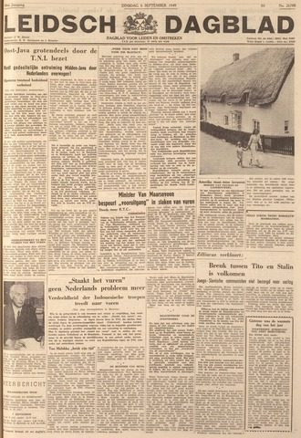Leidsch Dagblad 1949-09-06