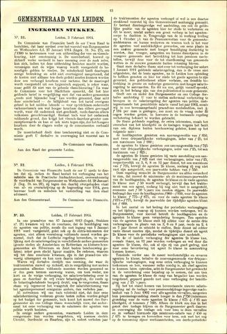 Handelingen van de Raad 1914-02-03