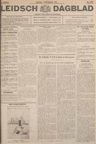 Leidsch Dagblad 1930-09-05