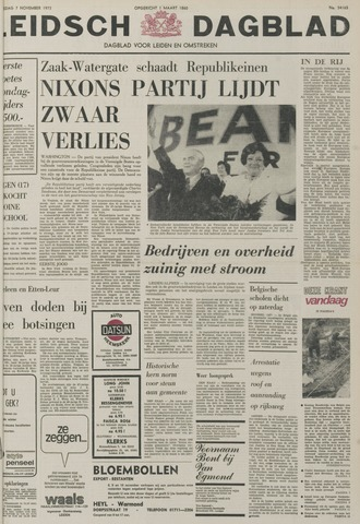 Leidsch Dagblad 1973-11-07