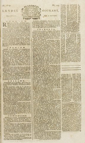 Leydse Courant 1819-10-18