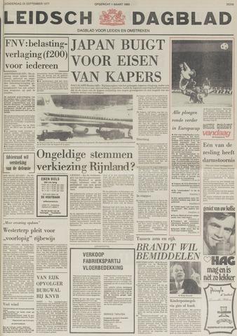 Leidsch Dagblad 1977-09-29