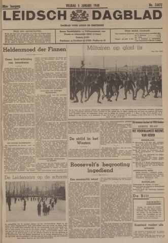 Leidsch Dagblad 1940-01-05
