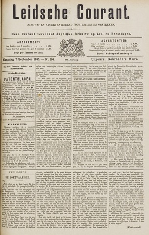 Leydse Courant 1885-09-07