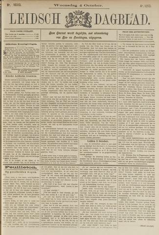 Leidsch Dagblad 1893-10-04