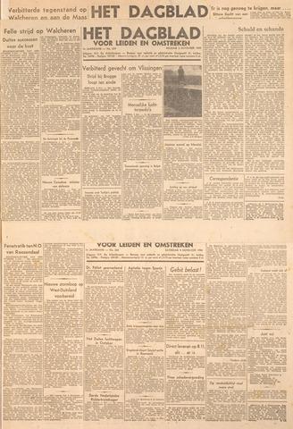 Dagblad voor Leiden en Omstreken 1944-11-03
