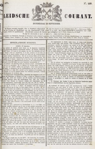 Leydse Courant 1871-09-28