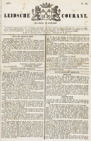 Leydse Courant 1871-01-23