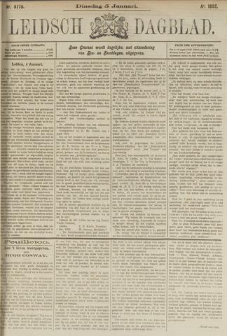 Leidsch Dagblad 1892-01-05