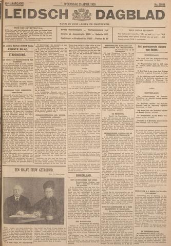 Leidsch Dagblad 1928-04-25