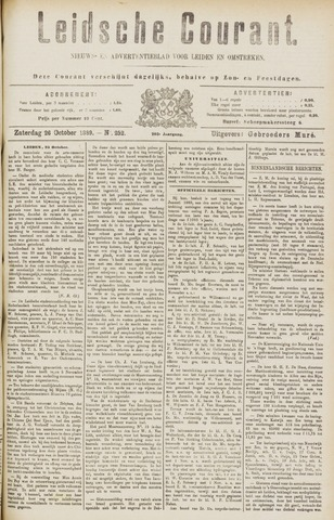 Leydse Courant 1889-10-26