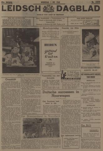 Leidsch Dagblad 1940-05-01