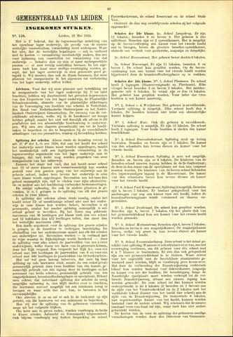 Handelingen van de Raad 1922-05-22
