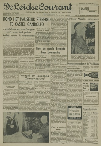 Leidse Courant 1958-10-10