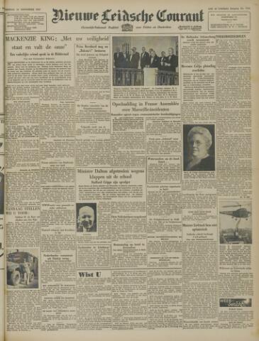 Nieuwe Leidsche Courant 1947-11-14
