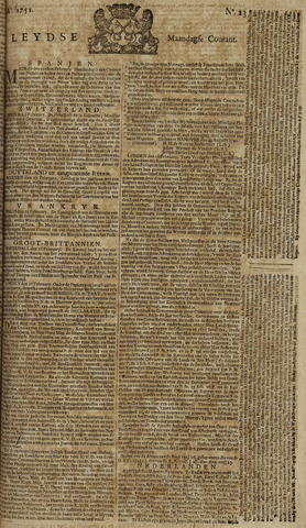 Leydse Courant 1751-02-22