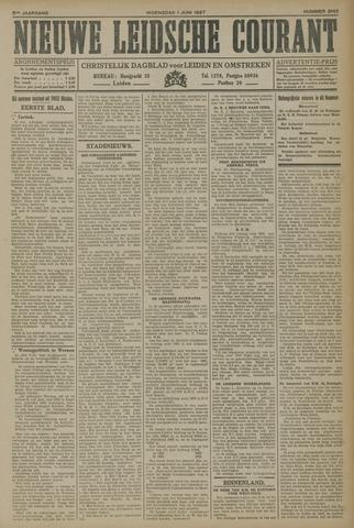 Nieuwe Leidsche Courant 1927-06-01