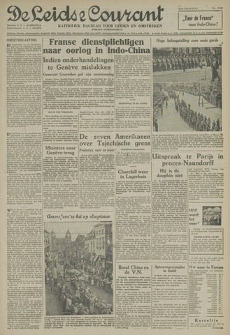Leidse Courant 1954-07-08