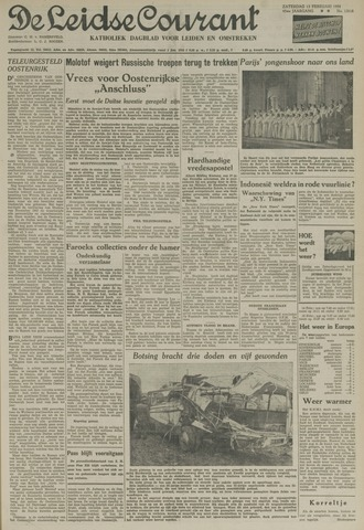 Leidse Courant 1954-02-13