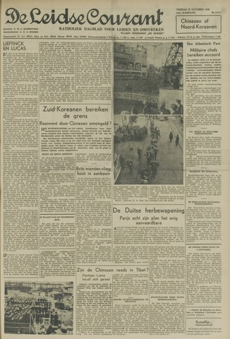 Leidse Courant 1950-10-27