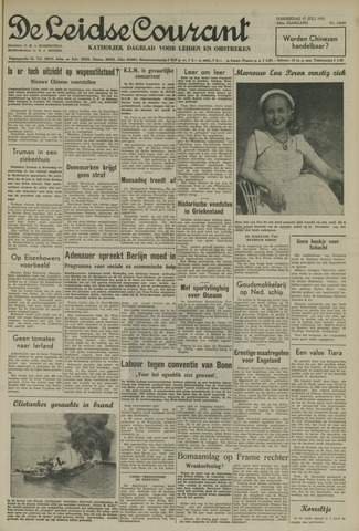 Leidse Courant 1952-07-17