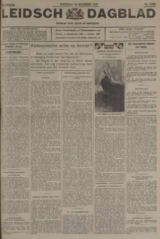 Leidsch Dagblad 1935-11-20