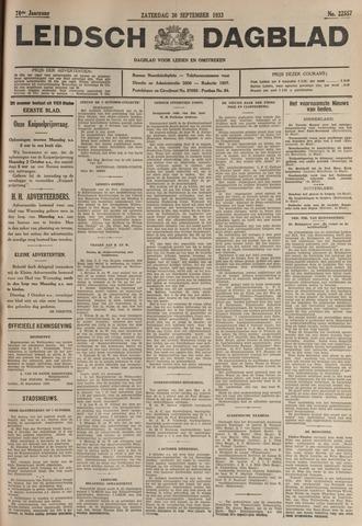 Leidsch Dagblad 1933-09-30