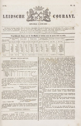 Leydse Courant 1876-01-04
