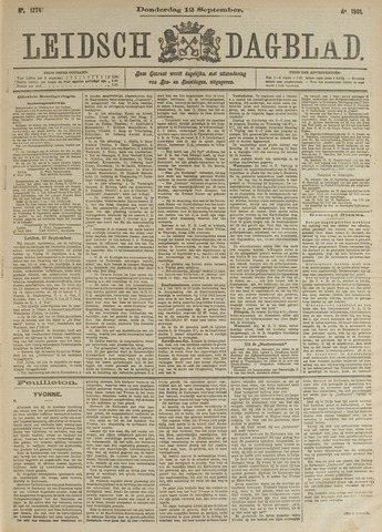 Leidsch Dagblad 1901-09-12