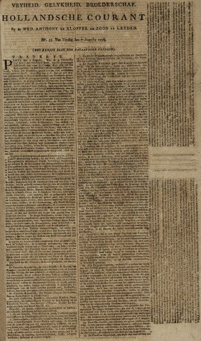 Leydse Courant 1795-08-07